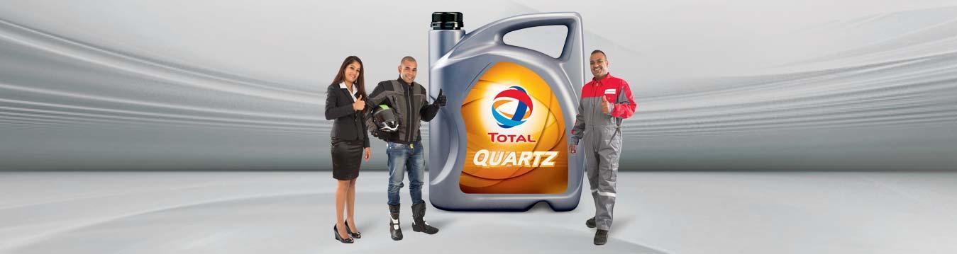 Les lubrifiants Total
